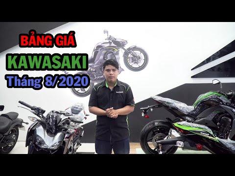 Giá chính hãng các dòng xe của Kawasaki | Giá xe tháng 08/2020