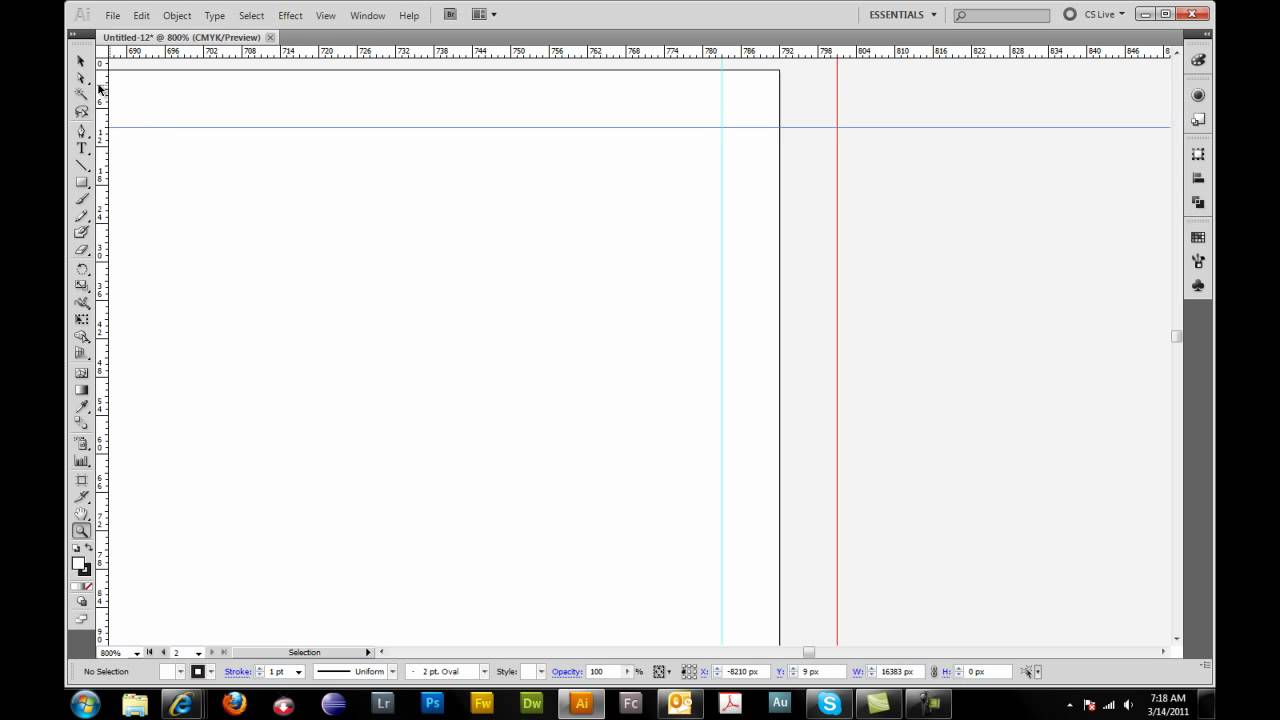 85x11 tri fold brochure setup in adobe illustrator youtube