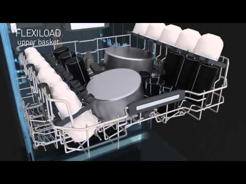 Lavastoviglie ad incasso Hotpoint Ariston - YouTube