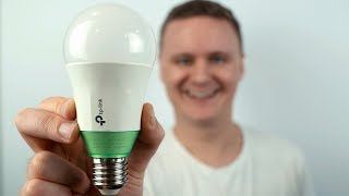 Simple and Easy! - TP Link LB110 Dimmable Smart Bulb - Unboxing and First Impressions!