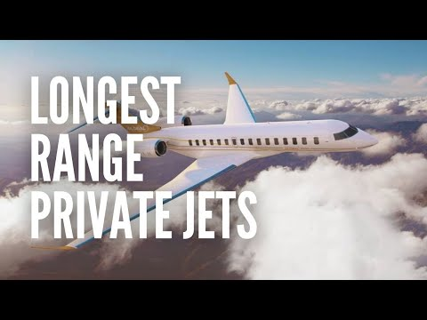 The 10 Longest Range Private Jets in the World