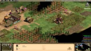 Aoe2 HD: 4v4 Nomad (Britons, Flush) (6/30/13)