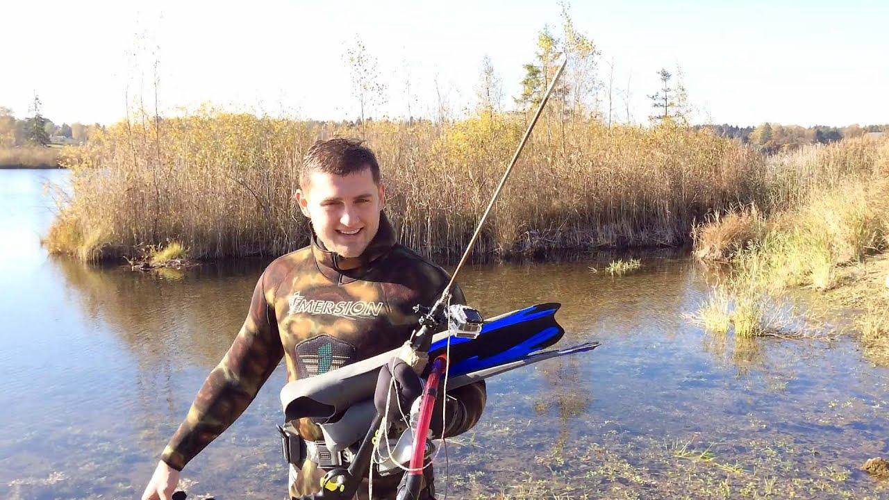 подводная охота #17 рыбное место