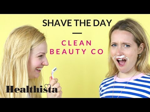 How to make a natural shaving cream with Clean Beauty Co
