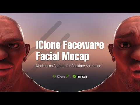 iClone Faceware Realtime Facial Mocap System - Demo Video