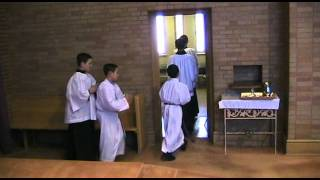 Altar Server training video