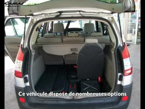groupement de l 39 occasion pr sente une renault grand scenic. Black Bedroom Furniture Sets. Home Design Ideas