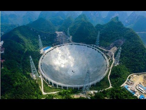 Chiêm ngưỡng kính viễn vọng săn người ngoài hành tinh lớn nhất thế giới ở Trung Quốc