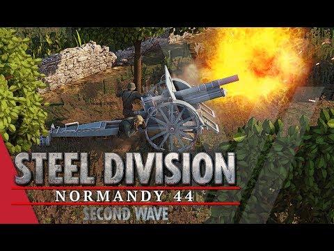 TGPT Round 1! Steel Division: Normandy 44 - Nicholas Fricke vs Meta11ic (Game 2, Omaha)