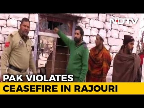 Woman Killed In Ceasefire Violation By Pak In Rajouri
