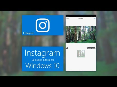 How to post up pictures on instagram from your computer