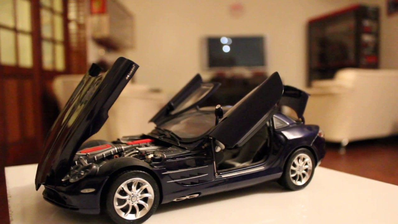 Mercedes Benz Slr Mclaren 2003 By Cmc 1 18 Scale Youtube