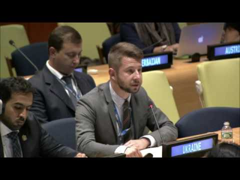 Ukraine's statement at the UN General Assembly Sixth Committee meeting.
