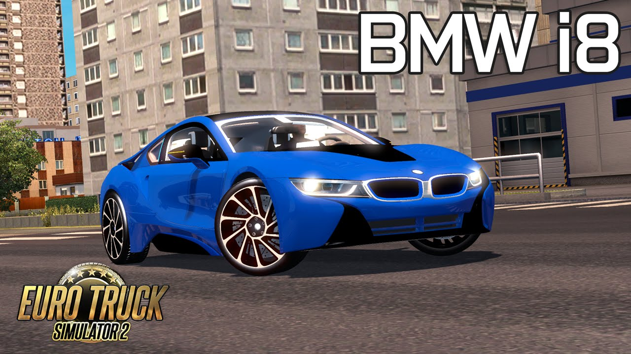 euro truck simulator 2 bmw i8 hibrit araba modu - youtube