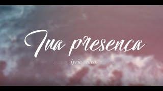 Tua presença -  Playback - Videoletra - Versão Live