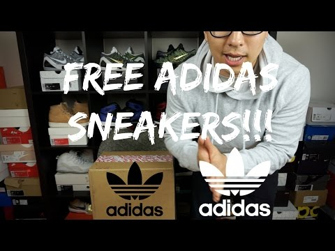FREE SNEAKERS FROM ADIDAS!!