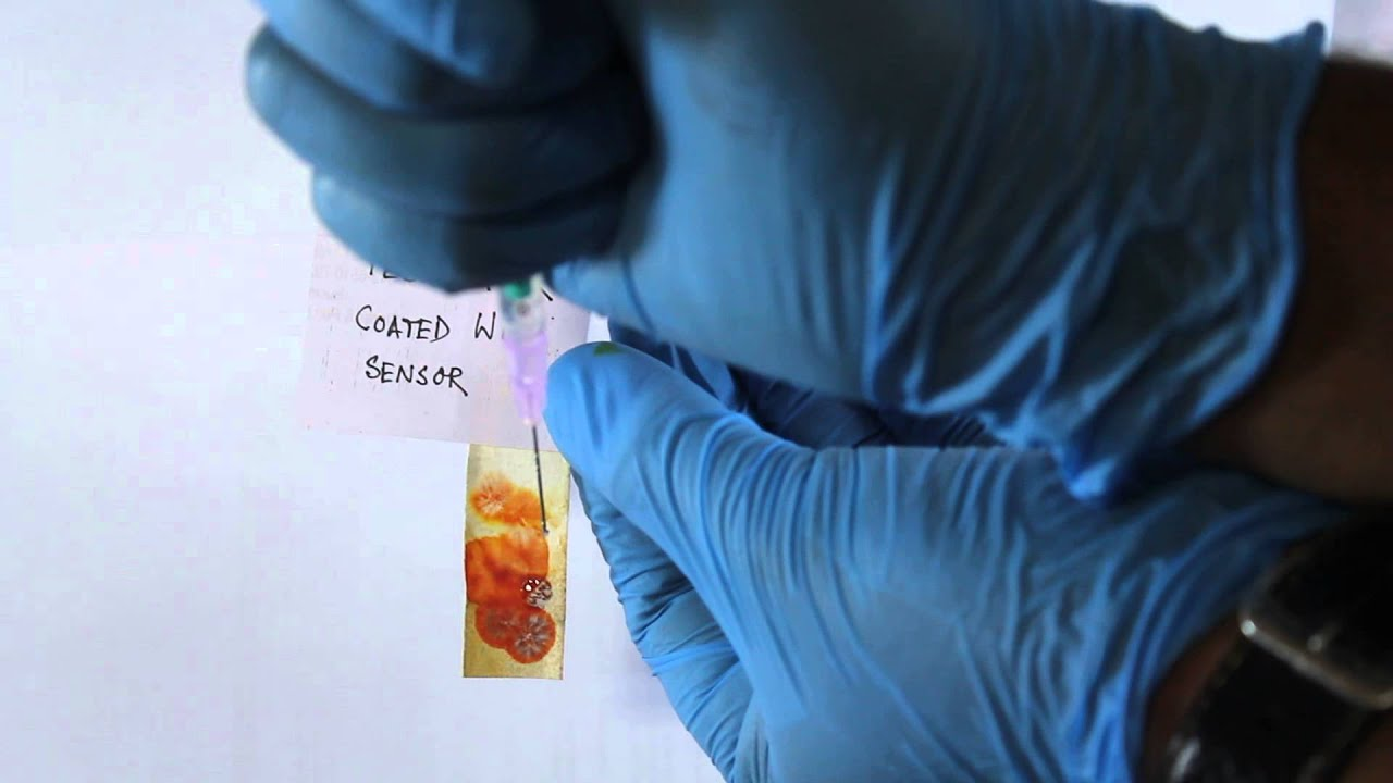Test Paper for Fluoride detection