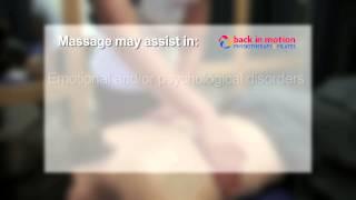 Back in Motion - Massage