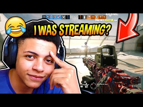 MYTH FORGETS HIS STREAM WAS ON...*EMBARRASSING* AND PLAYS HIS FIRST GAME OF RAINBOW SIX SIEGE!