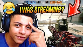 MYTH FORGETS HIS STREAM WAS ON...*EMBARRASSING* AND PLAYS HIS FIRST GAME OF RAINBOW SIX SIEGE! thumbnail