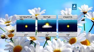 ТВ Черно море - Прогноза за времето 25.04.2018 г.