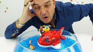 Aviones Jett y los Súper Wings. Vídeos de juguetes para niños