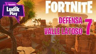DEFENSA VALLE LATOSO 7 - CELTIÑO | FORTNITE SALVAR EL MUNDO | Gameplay español