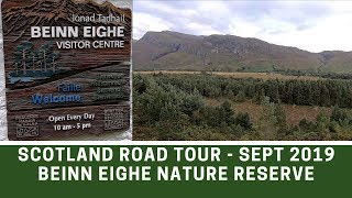Scotland NC500 Road Tour Sept 2019 | Beinn Eighe Nature Reserve Kinlochewe | Ep153