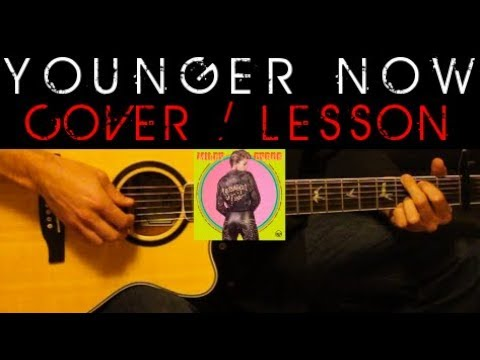 YOUNGER NOW - Miley Cyrus Cover 🎸 Easy Acoustic Guitar Tutorial ...