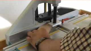 Hoffmann Mu-2 Manual, Bench-top Dovetail Routing Machine