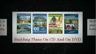 Low-cost Building Plans On Cd, Building Plans On Dvd