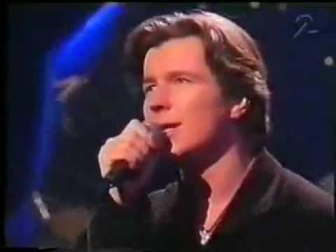 Rick Astley - Hopelessly (Live) 1993