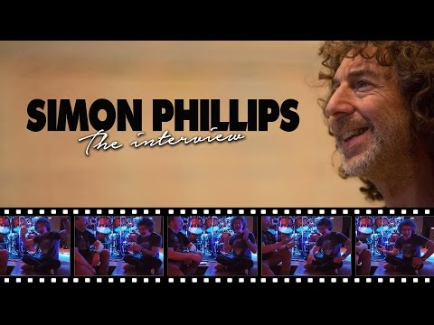 Simon Phillips interview - Protocol / Toto / Drums /
