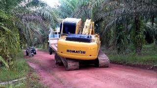 Repeat youtube video komatsu pc 180 excavator