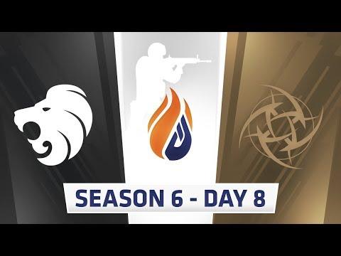 ECS Season 6 Day 8 North vs NIP - Nuke