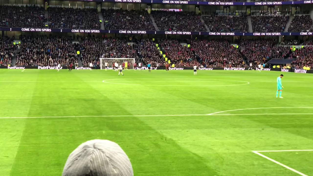 Tottenham Vs Bournemouth 3-2 nervy finish at the end, Mourinho 100% record so far