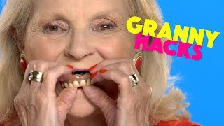 Best Granny Hacks You'll Ever See  | Beauty Studio
