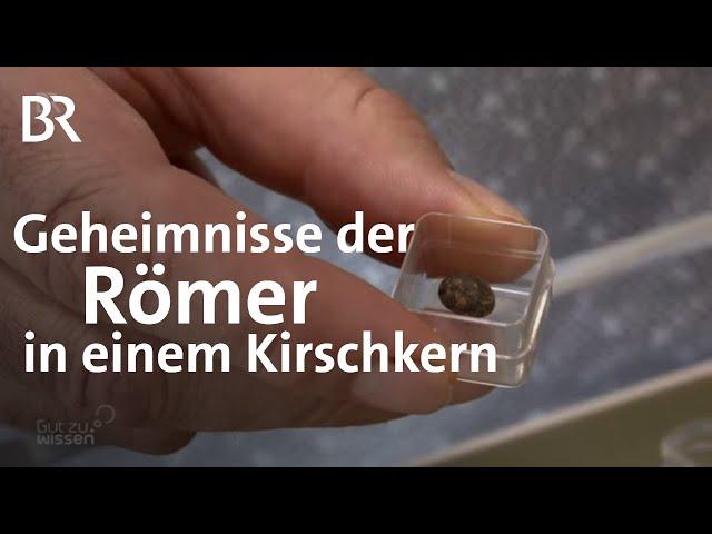 Mobiles Röntgengerät für archäologische Museen | Römerzeit | Gut zu wissen | BR