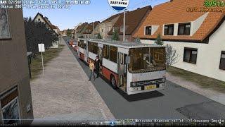 Omsi 2 bus tour (520) Line 512 捷克 Dolni Kounice Masarykovo nam  -Trbousany smycka @ Ikarus T280