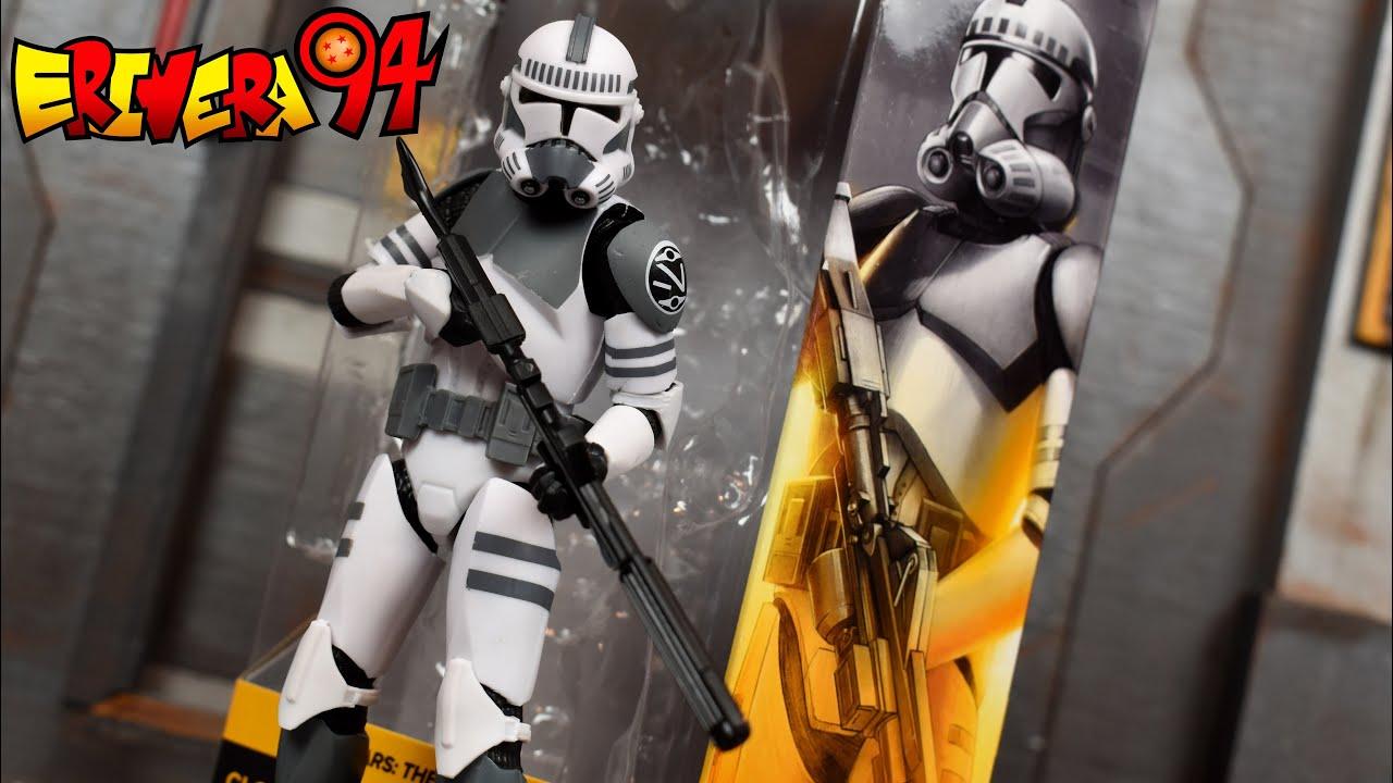 Collectible Figure Star Wars The Black Series Clone Trooper Kamino