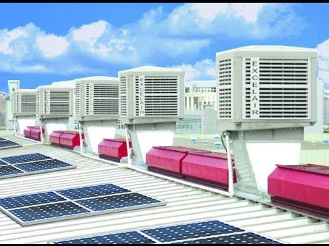 Eco Friendly Air Conditioner The Installation Of Water Air