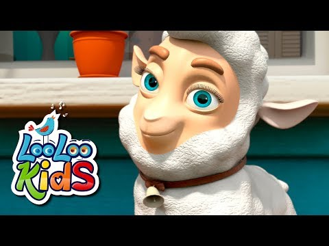 Mary Had a Little Lamb - THE BEST Song for Children | LooLoo Kids
