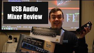 XLR to USB Audio Mixer Review - Behringer, Focusrite and Presonos
