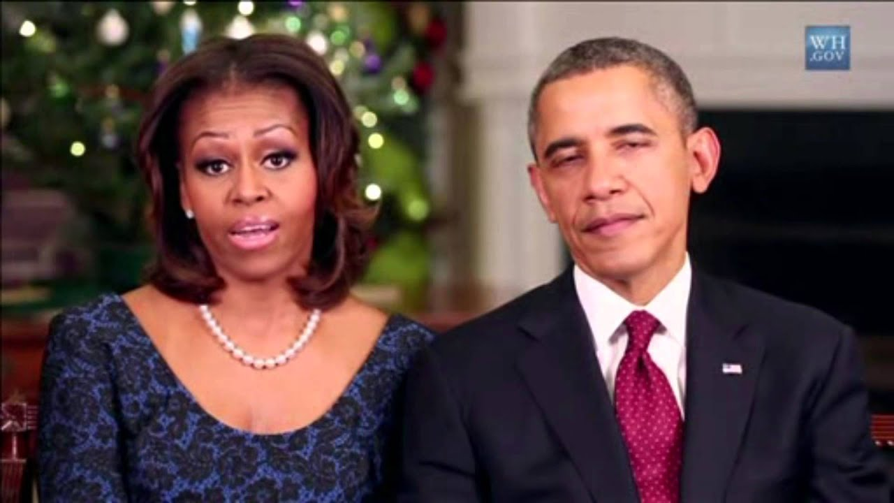 Barak Obama And Michelle Obama Wish Everyone A Merry Christmas And ...