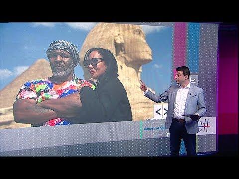 مايك تايسون في -حملة فرعون- في مصر  - نشر قبل 2 ساعة