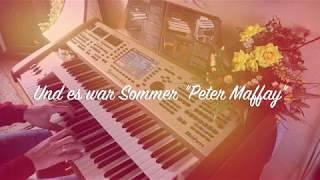 """Und es war Sommer """"Peter Maffay"""" Live gespeeld door Jelle van Marrum"""