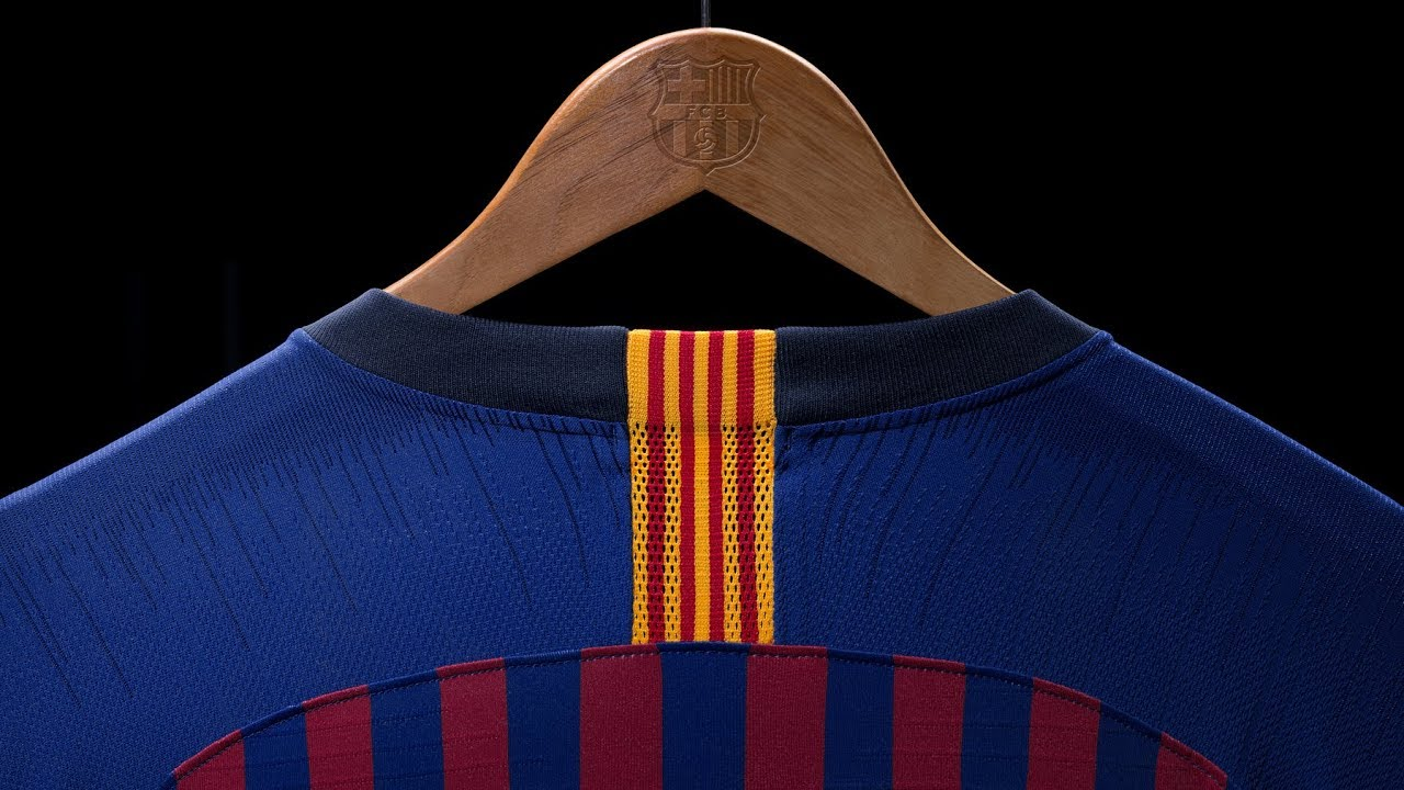 UNBOXING: La nueva camiseta FC BARCELONA 2018/2019 - Nike Football - YouTube