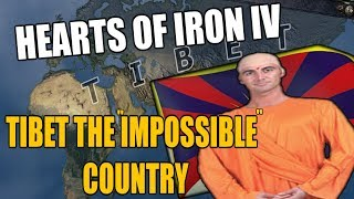 Hearts Of Iron 4 TIBET - THE IMPOSSIBLE COUNTRY