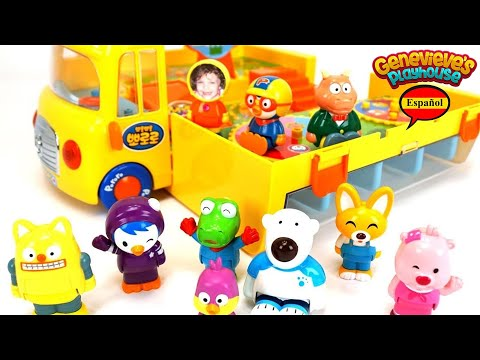 Thumbnail: Aprende los Colores - Video Educativo para Niños Juguete Autobus Escolar Pororo the Little Penguin!