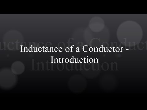Inductance of a Conductor - Introduction